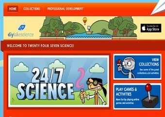 A Treasure Trove of Interactive Games and Experiments for Science Teachers ~ Educational Technology and Mobile Learning | Learning*Education*Technology | Scoop.it