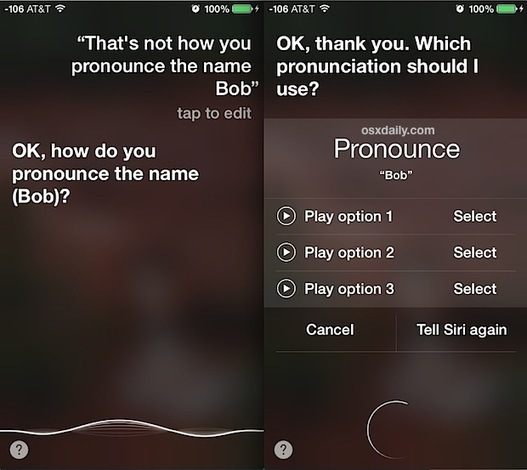 Correct How Siri Pronounces Names in iOS | iGen...