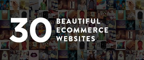 30 Beautiful and Creative Ecommerce Website Designs – Shopify | Web design | Scoop.it