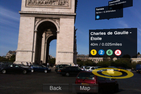 App Shopper: Augmented Reality France (Navigation) | Augmented Reality News and Trends | Scoop.it