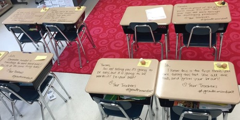 Stressed-Out Kids Inspired By Teacher's Graffiti Desks | Educational Discourse | Scoop.it