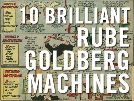 Simple and Rube Goldberg Machines: A Maker Education, STEAM Lesson @JackieGerstein | math | Scoop.it