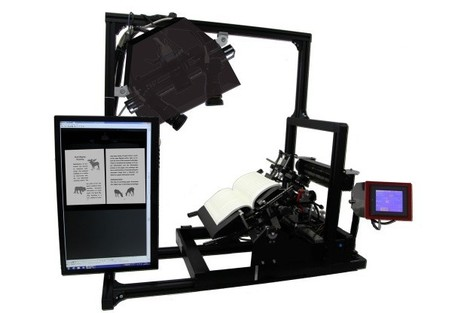3D book scanner blows through tomes at 250 pages per minute | WEBOLUTION! | Scoop.it