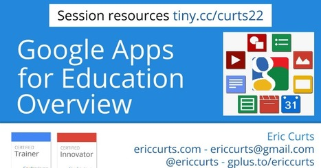 Google Apps for Education Overview | Education | Scoop.it