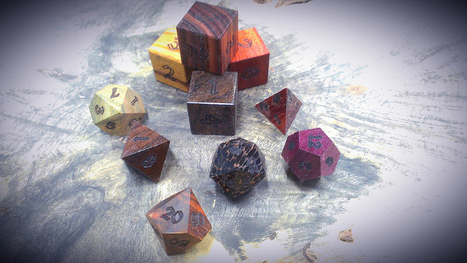 Artisan Dice - Handcrafted Dice for the Discerning Gamer | crafting | Scoop.it