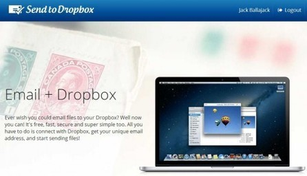 Envoyer des fichiers par mail dans sa Dropbox, Send to Dropbox | Geeks | Scoop.it