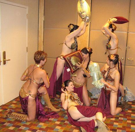 Déguisements de Princesse Leia en Esclave de Jabba | Soumis à Disposition | Scoop.it