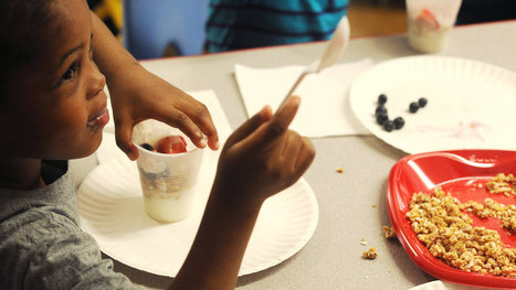 Crayons Down. Now Dig Into That Healthful Parfait. | School Lunches | Scoop.it