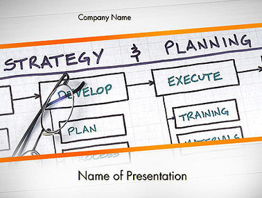 Strategy and Planning Flowchart Theme Presentation Template | Presentation Templates | Scoop.it