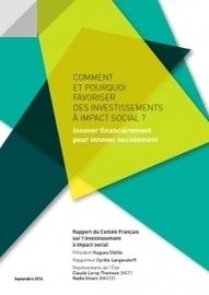 Innover financièrement pour innover socialement | Avise.org | Innovation sociale et coopération | Scoop.it