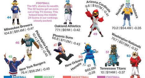 Smartest Spenders in Sports | Sports & Entertainment Marketing | Scoop.it