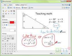 Un tableau blanc virtuel gratuit fonctionnant avec Skype | Time to Learn | Scoop.it