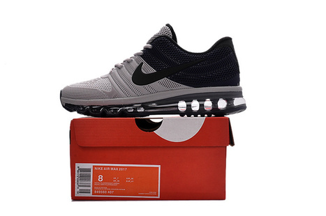 Hot Sale Nike Air Max 2017 Black Grey Men Shoes [airmax2017-011] - £58.00 : Luxury Hot Bags Hut - Original Purses Factory Outlet Collection | Beats By Dre - Cheap Monster Beats By Dre Outlet Sale | Scoop.it