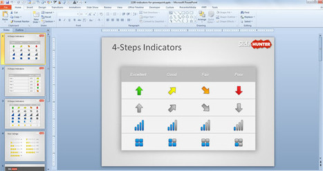Free KPI Indicators Template for PowerPoint - Free PowerPoint Templates - SlideHunter.com | all | Scoop.it