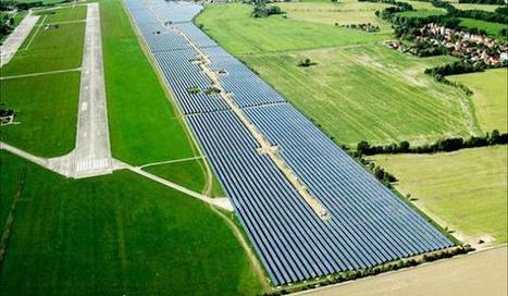 Delhi airport hosts mega solar power plant | Renewable | Scoop.it