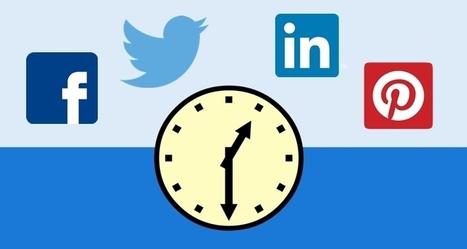 Descubre el tiempo de vida de tus publicaciones en redes sociales | the social media today | Scoop.it