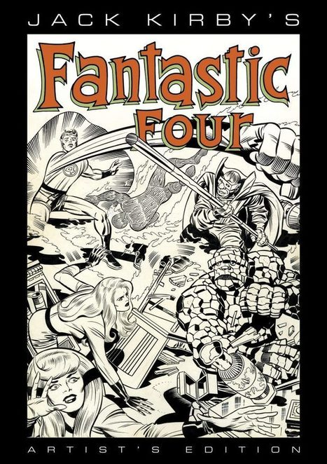 "SDCC '16: IDW to Publish ""Jack Kirby's Fantastic Four"" Artist's Edition in 2017 