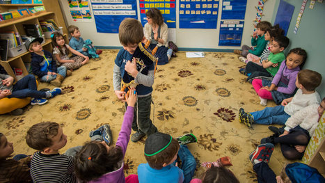 Montessori Schools Surge in Popularity Among New Generation of Jewish Parents | Jewish Education Around the World | Scoop.it