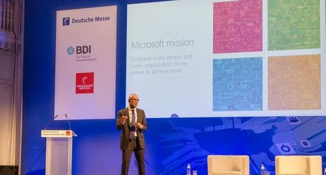 Satya Nadella talks about how digital transformation is changing the face of manufacturing - MSPoweruser | Trends of the world | Scoop.it