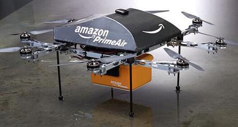أمازون تكشف عن خطة مستقبلية: التسليم عن طريق الطائرات بدون طيار | Cours Informatique | Scoop.it