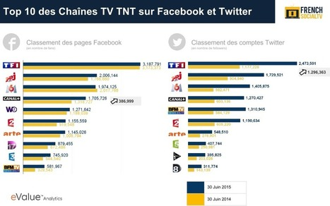 Bilan des Dispositifs Digitaux des Chaînes TV TNT sur Facebook et Twitter French SocialTV | SocialTV - SecondScreen | Scoop.it