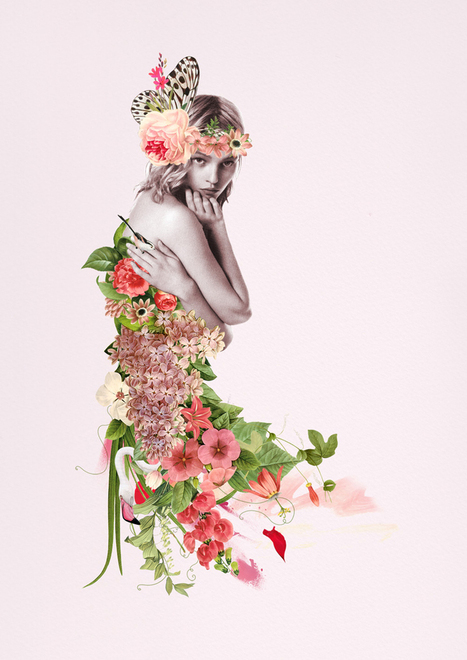 Captivating Greek Goddesses Illustrated by Ciara Phelan - The Fox ... | creative photography | Scoop.it