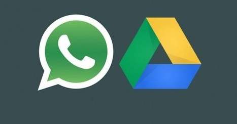 WhatsApp permitirá copiar todas las fotos, audios y conversaciones en Google Drive | Redes Sociales_aal66 | Scoop.it