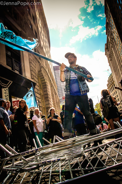 Thousands flood Wall Street to fight climate change — in pictures | Occupy Belgium | Scoop.it