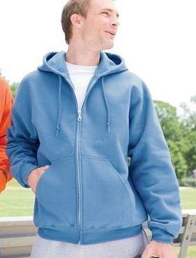 Full Zip Hood | Buy Ultra Blend 50/50 Full-Zip Hood | Fantastic style of black vest top | Scoop.it