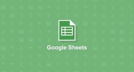 Google Sheets update means it can finally compete with Excel - Memeburn   Tutoriels logiciels   Scoop.it