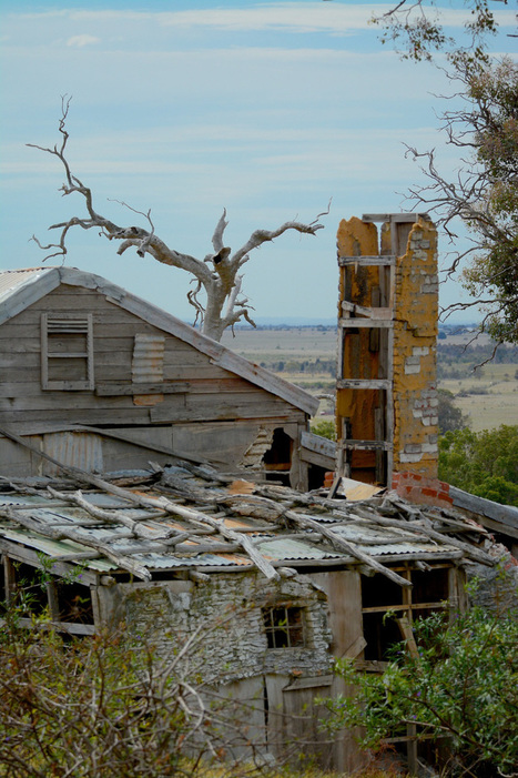 Counting Birds at Mt Rothwell | Abandoned Houses | Scoop.it