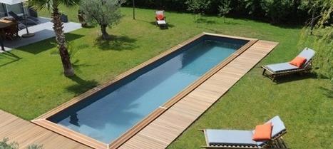 Reportage photo Piscinelle - Un couloir de nage dans la Drôme provençale | Piscine & Design | Scoop.it