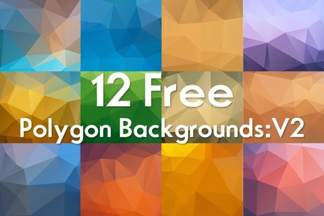 Free Polygon Backgrounds  | OrTheme | Creative PSD for free | Scoop.it