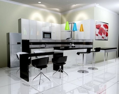 Kitchen Paint Color Ideas with White Cabinets Complete Your Luxury House | Home Designs an Decorating Ideas | Scoop.it