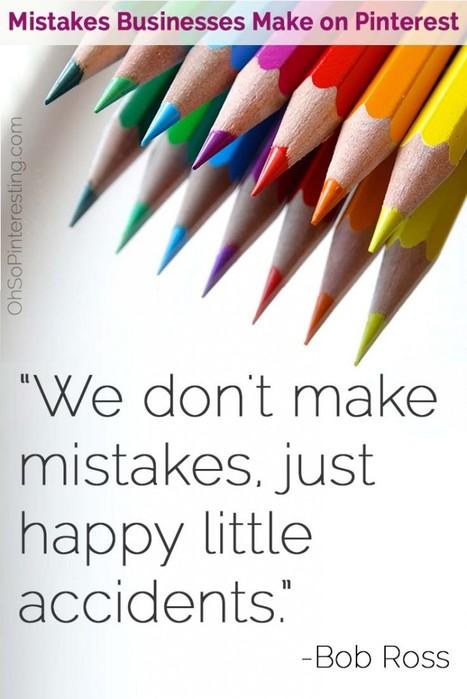 Mistakes businesses make on Pinterest   Pinterest   Scoop.it