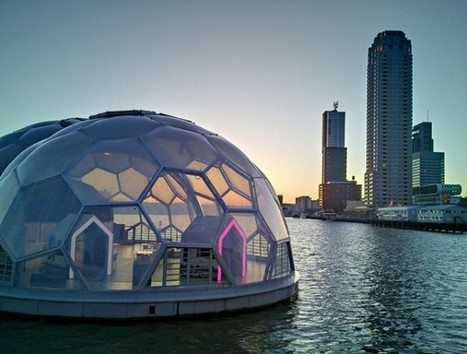 Holland's Floating Pavilion Designed For Rising Seas | Schone lucht een mensenrecht! | Scoop.it