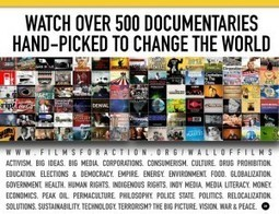 Hitting a Wall of Films (documentaries for inspiring thought and action) — @joycevalenza NeverEndingSearch | Geography for All! | Scoop.it