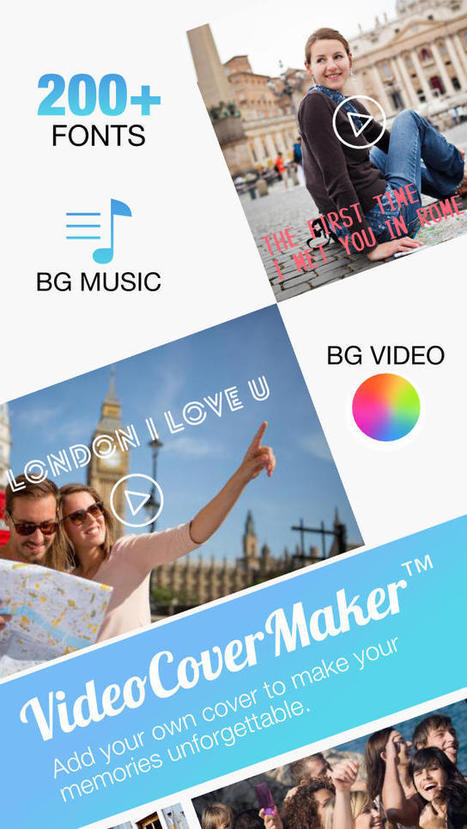 Video Cover - Create Title on Videos with Fonts and Background Musics for Instagram (Photography) | Social Media Power | Scoop.it