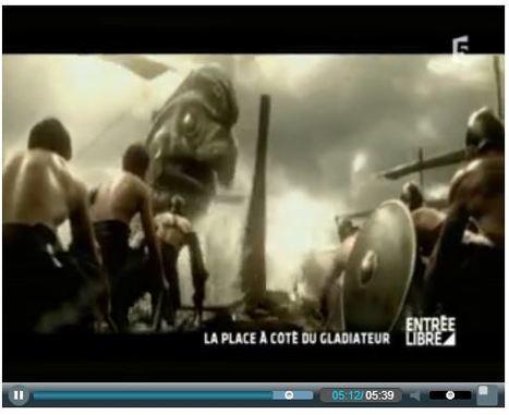 Entrée Libre - France 5 | 300 : Rise Of An Empire - TV & Web coverage | Scoop.it
