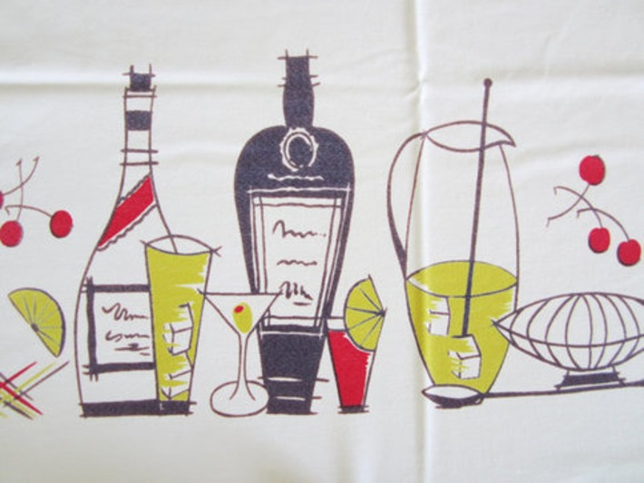 Vintage Eames Tablecloth | Kitsch | Scoop.it