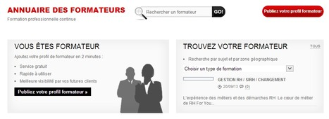 Annuaire des formateurs - Formation professionnelle continue | Time to Learn | Scoop.it