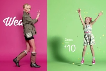 Asda unveils weather responsive ad campaign for George | Location Based Marketing | Scoop.it