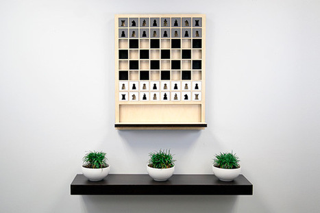 Mate - Wall Hanging Chess Board | 16s3d: Bestioles, opinions & pétitions | Scoop.it