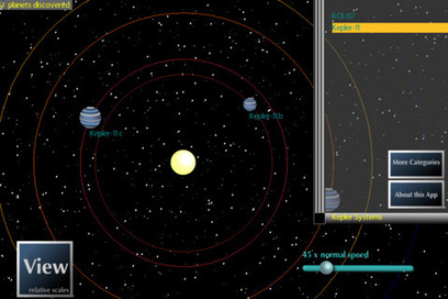 Kepler Explorer: Planetary System App in iPhone - Social Tech Media | Le Pan II Sells on Amazon Shop . | Scoop.it