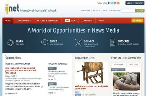 IJNet   Top sites for journalists   Scoop.it