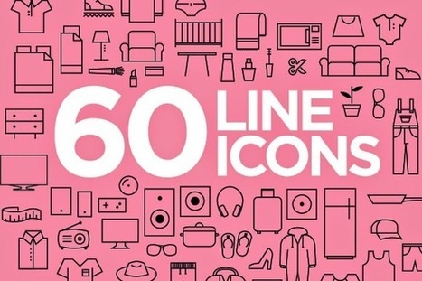 Free PSD Goodies and Mockups for Designers: 60 FREE FRESH ICONS IN VECTOR | freebies | Scoop.it