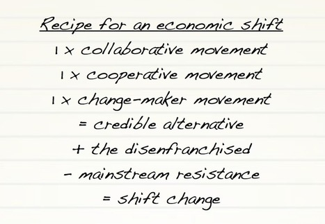 Collaboration and co-operation: Sleeping giants of economic shift change | P2P search for New Politics & Economics | Scoop.it
