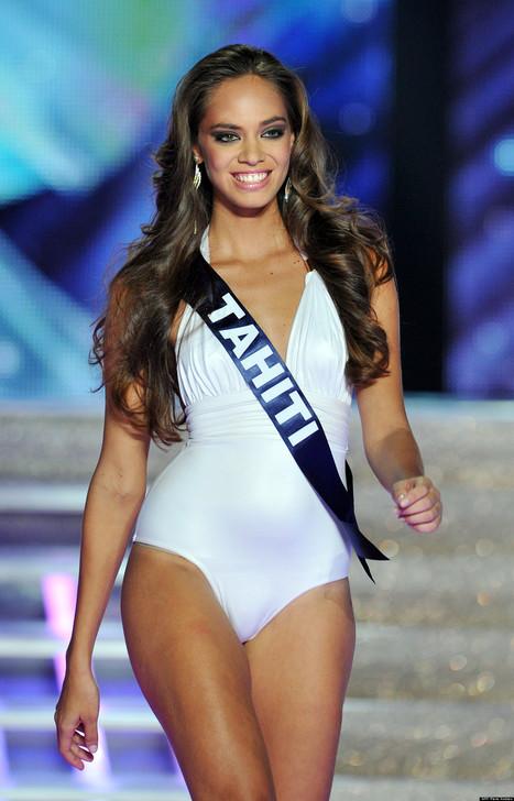Miss Tahiti souhaite représenter la France à l'élection de Miss Univers | Aloha Monoi Factory | Scoop.it
