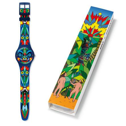 1001 Montres - Mika et la montre Swatch de collection | Montres (actualité, information, histoire, etc.) | Scoop.it