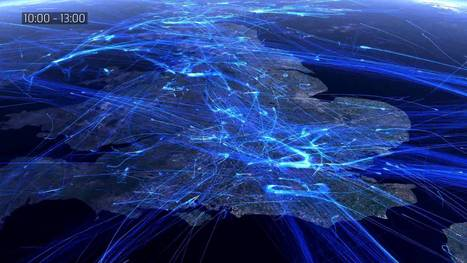 ▶ European air traffic data visualization for NATS - YouTube | GeoWeb OpenSource | Scoop.it